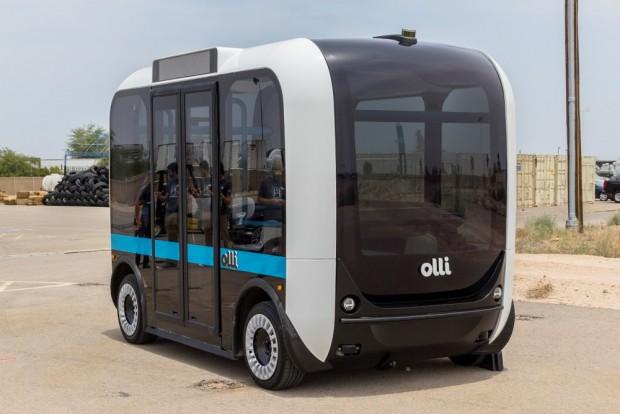 Németországban készül majd az amerikai önvezető busz