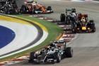 F1: Ricciardo hiába kergette, Rosberg győzött