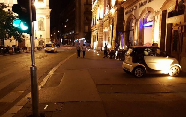 Kis autó nagy tahósága Budapesten