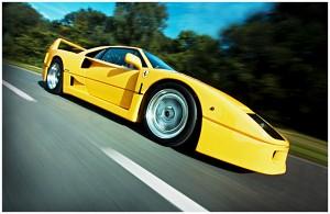 Kamerákat szereltek egy Ferrari F40-re, és utána valami elképesztő dolog történt