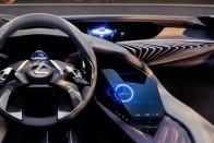 Hologramos műszerekkel ejt ámulatba a Lexus