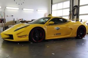 Elkészült az első budapesti Ferrari-taxi
