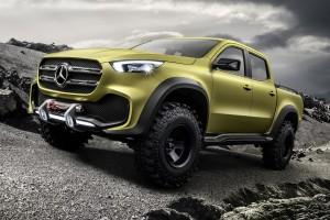 Mercedes-Benz X-osztály: szmoking és túrabakancs