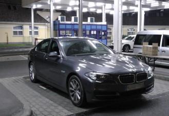 Lopott BMW-t fogtak