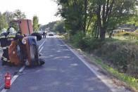 Képeken az Isaszegnél történt baleset