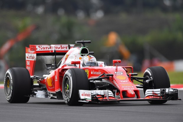 F1: Vettel a harmadik helyre számított