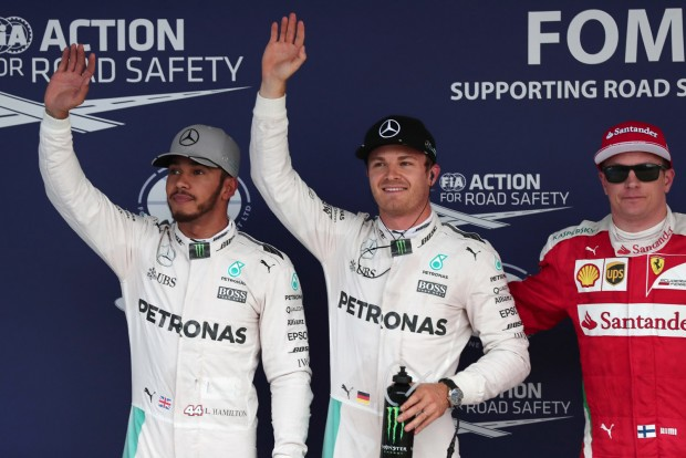 F1: 82 centin múlt Rosberg elsősége