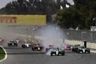 F1: Hamilton lazán nyert, Verstappen szemét volt