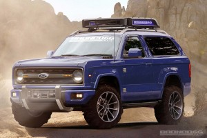 Merev tengelyes terepjárót épít a Ford