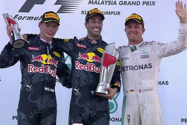 F1: Ricciardo elfogadja a sorstól a győzelmet