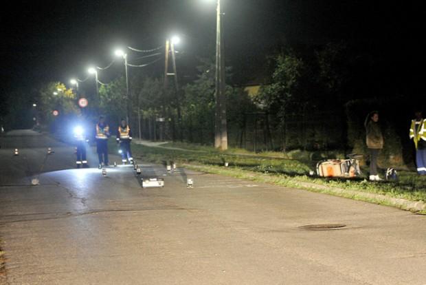 Babakocsis nőt gázoltak el Szentendrén – fotók