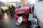 Megrázó képek a fővárosi balesetről, öten sérültek meg