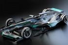 Ilyenek lehetnek az F1-es autók 2030-ban