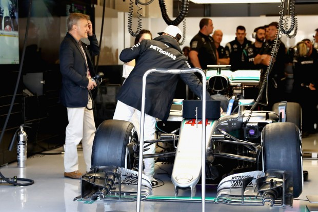 F1: A Mercedes kijátszott egy jokert Hamilton kedvéért