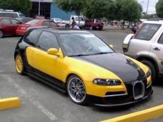 Kinek kéne Bugatti Veyron, ha ez a Honda Civic is majdnem úgy néz ki?