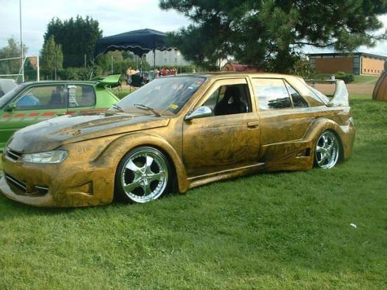 Valaha Renault 25-ös volt, most szörnyeteg.