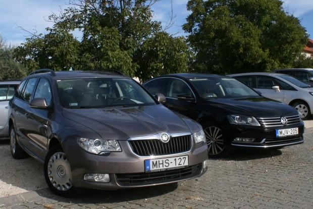 Középkategóriás modellekből széles a választék, mert népszerű vezetői autók