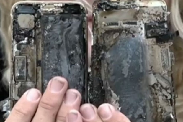 Az iPhone 7 is spontán kigyullad