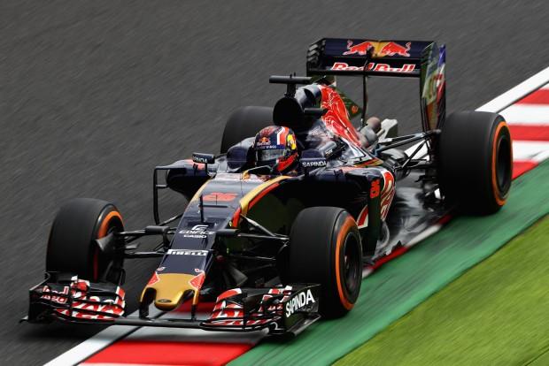 F1: Mit keresett egy polip a bikán?!