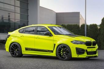 Igen csúf, viszont háromszázzal megy ez a BMW X6