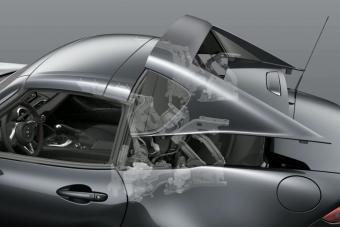 Így működik a Mazda MX-5 nyitható varázsteteje