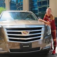 Gigantikus Cadillacet kapott Dzsudzsák
