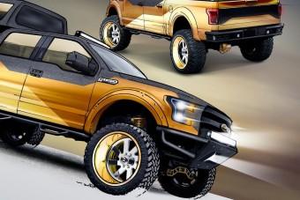 Őrült pickupokat épít a Ford