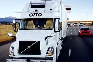 Na mit szállított az első sofőr nélküli teherautó?