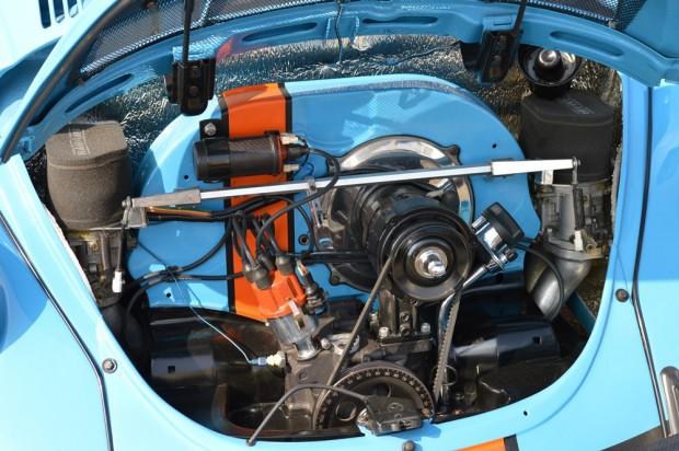 Végezetül egy patika állapotú Bogár-motor. Ugye, hogy szép?