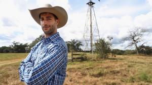 F1: Ricciardo texasi paraszttá változott
