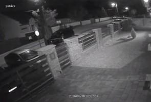 Lazán ellopták a győri robogót - videó