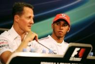 Hamilton: Schumacher mindig bepisilt