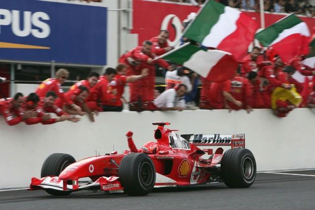 F1: Schumacher egy napon nyert időmérőt és futamot