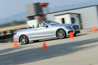 Mercedes C-osztály kabrió - Ki a király?