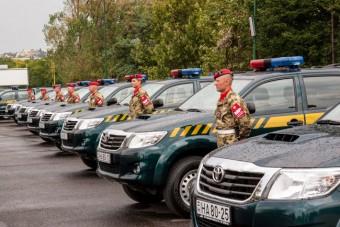 Új autókat kaptak a magyar katonai rendészek