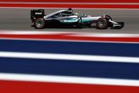 F1: Hamiltonnak megvan az eső austini pole