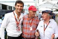 F1-legendáktól kért tanácsot a visszavonuló Webber
