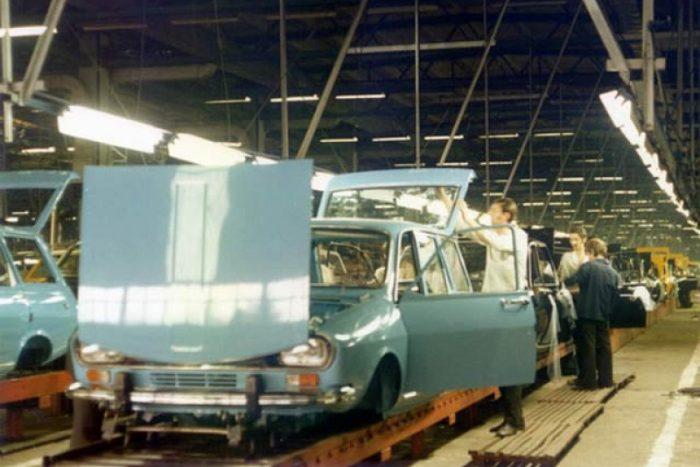 Az automatizáltság nem volt igazán magasfokú, amikor '68-ban megindult a gyártás