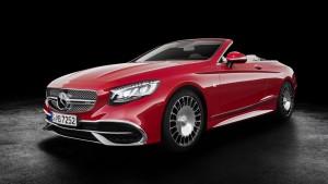 Itt a Mercedes-Maybach fejedelmi luxuskabriója!