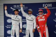 F1: Rosberg a győzelemért indul vasárnap