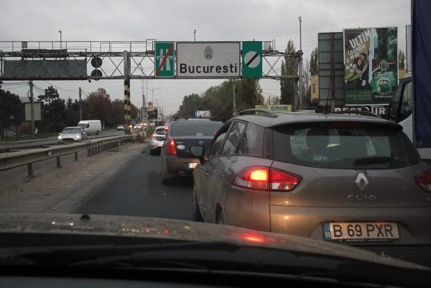 Ééés megérkeztünk Bukarestbe. Dugó, nyomasztó betontömbök, őrült autóvezetők