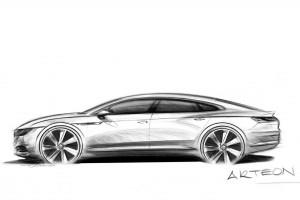 Négyajtós luxuskupé a Volkswagentől