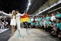 F1: Rosberg degeszre kereste magát, elég volt