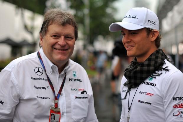 F1: Rosbergre fogad a régi Mercedes-főnök