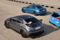 Közös teszt: BMW M2, Ford Focus RS, Honda Civic Type R