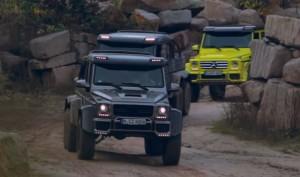 Elképesztő, hogy csapatnak a Mercedes gigászi terepjárói
