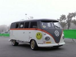 Porsche-motorral őrületesen király lett ez a VW T1-es
