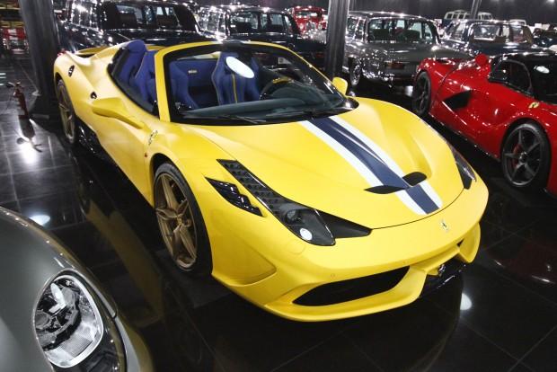 Ez a Ferrari egy kicsit már bazári hangulatú