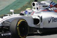 Alonso és Massa is esőben bízik