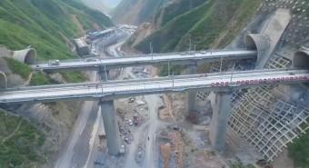 Égi alagutat épít Kína